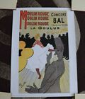 """Moulin Rouge - 27.5"""" x 19.75"""" Vintage Theater Poster - IMMACULATE CONDITION"""