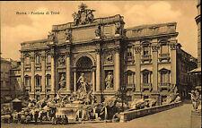 Rom Roma Italien Italia Italy Postcard ~1910 Fontana di Trevi Brunnen ungelaufen