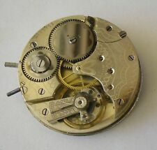 Longines 19.75 Movement Working + Dial Crown & Crystal Circa 1906