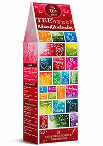 """Tee-Adventskalender """"Tee Adventszeit"""" mit 24 Pyramidenbeuteln einzeln im Sachet"""