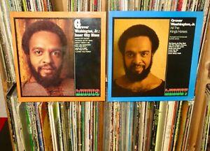 "GROVER WASHINGTON JR. ""Inner City Blues & All The King's Horses"" Kudu 2LP (RVG)"