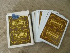 Vintage Deck Carson Nugget Casino Playing Cards - Carson City Nevada-Excellent