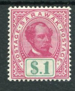 SARAWAK 1899 BROOKE $1 SG47a MINT