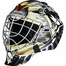 Professional Collectible NHL Team Goalie Face Mask Pittsburgh Penguins Hockey