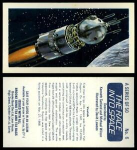 Vostok #6 The Race Into Space 1971 Brooke Bond Tea Card