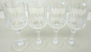 Grab Bag of 4 Crystal Wine Glasses
