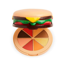 ✨🍔 I Heart Revolution 'Grilled Cheese Burger' 8-pan Eyeshadow Palette NEW! 🍔✨