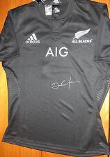 Dan Carter signed NZ All Blacks 2015 jersey - Man of Match - RWC Final 2015