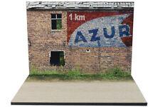 Diorama Publicité murale AZUR - 1/43ème - #43-2-B-B-022