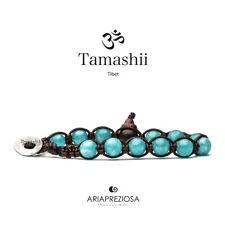TAMASHII BRACCIALE ORIGINALE TIBETANO GIADA VERDE ACQUA - BHS900-200