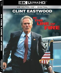 CLINT EASTWOOD: In the Line of Fire [4K Ultra HD Blu-ray] 6/15/21 NEW!