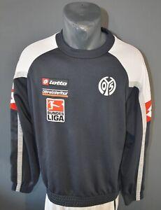 Lotto FSV Mainz 05 Sweater Football Mens Winter Sweatshirt Jumper Jacket Size M