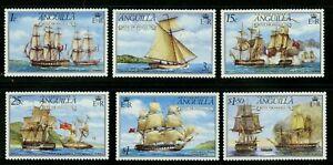 Anguilla   1976   Scott #259-264   Mint Never Hinged Set