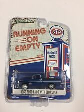Greenlight STP 1969 Ford F100 With Bed Cover Running On Empty Series 2