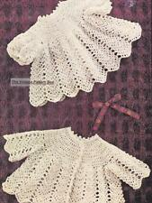 LACY COAT & ANGLE TOP /3 to 9 months - COPY Baby crochet pattern