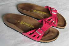 NEW Birkenstock Molina Ladies Pink Mules Sandals Size 5 EU 38