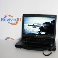Touchscreen! Panasonic Toughbook CF53 - i5-4310U, SSD, Portable Field Laptop