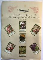 Houston Souvenir 1925 Religious Cards S S Houston Church Of Christ Religion