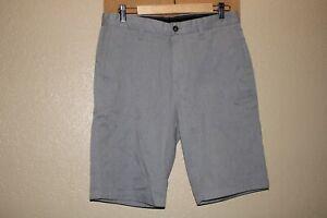 "VOLCOM Mens 31"" Waist gray Chino shorts Combine ship Discount"