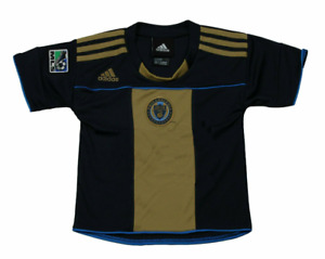 Adidas MLS Soccer Philadelphia Union Toddler's Home Team Jersey - Gold / Navy