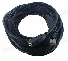 50 FT Hi-Speed 480Mbp USB 2.0 Extension Cable with Active Repeater(U2A1-A2-50)