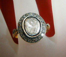 Victorian style 1.90ct Antique Rose Cut Diamond Ring Free Shipping worldwide