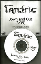 Days of the New TANTRIC Down and Out TST PRESS 2008 USA PROMO Radio DJ CD single