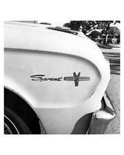 1963 Ford Falcon Sprint Emblem Automobile Photo Poster zuc0758-3QPP6V
