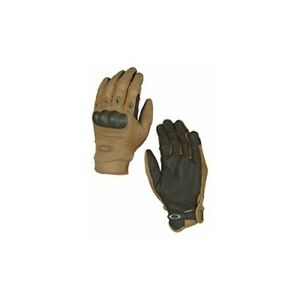 New Oakley 94025A-86W Factory Pilot Glove Coyote Tactical Gloves Size XL