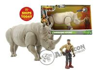 Jumanji CHARGING RHINO Lanard Rhinoceros Animal Action Figure Planet NEW 2019