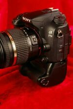 SONY A77 II 24.3MP Camera, Tamron 18-270mm Lens,  Vertical Grip/Expander, More!