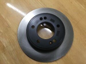 Hyundai, Rear Brake Disc, Genuine Part, 58411 A6300, i30