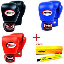 TWINS SPECIAL MUAY THAI BOXING GLOVES BGVL-3 NAMMAN KICKBOXING MMA YOKKAO RDX