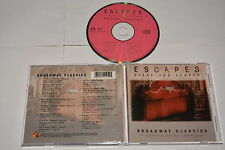 ESCAPES BROADWAY CLASSICS - VARIOUS ARTISTS - MUSIC CD RELEASE YEAR:1998