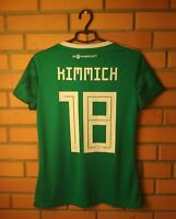 Germany Kimmich Jersey 2018 2019 Women LARGE Away Shirt Adidas Football Soccer