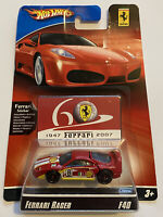 2007 Hotwheels Ferrari Racer F40 Red Shell 5/24 60th Anniversary MOC!