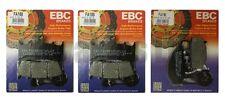 KAWASAKI ZX6R ZX636 A1P 2002 Set EBC Pastillas de freno traseras y Delanteras