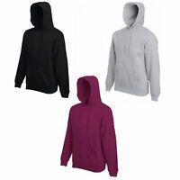 FRUIT OF THE LOOM Herren Kapuzen-Sweatshirt Pullover Hoodie Shirt Sweater ÖkoTex