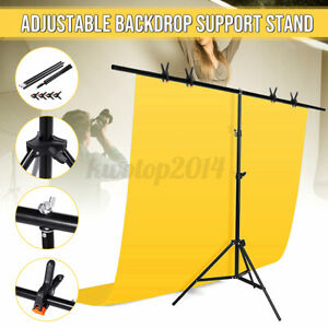 79x102inch T-type Adjustable Background Support Stand Holder Backdrop Photograph