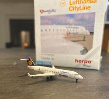 Herpa Wings Lufthansa CityLine Canadair Jet 1:500 Metall-Modell Top & OVP