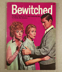 1965 TV SHOW BEWITCHED Elizabeth Montgomery Dick York Wonder Book For Kids Story