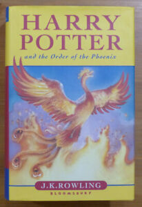 HARRY POTTER & the Order of the Phoenix / & the Goblet of Fire - en anglais