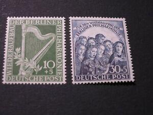 BERLIN  Nr. 72 - 73  postfrisch MNH  Michel 140,00