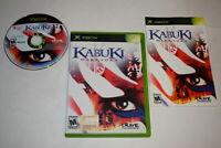 Kabuki Warriors Microsoft Xbox Video Game Complete