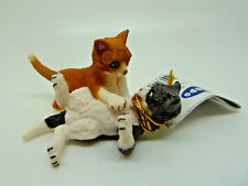 T24) NEW Papo (54034) Kittens Playing Cat Cats Pets Animal Figure