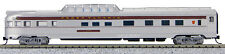 N Budd Passenger Dome Observation Car Pennsylvania (Silver/Maroon) (1-41378)