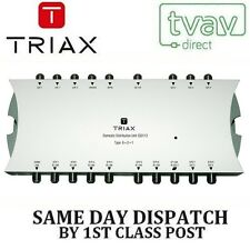 Triax DDU 8 Way Loft Box Domestic Distribution Unit with PSU 33112 6+2+1