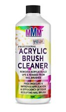 Acrylic Nail Brush Cleaner POWERFUL Liquid Cleaner for Acrylic Brushes 50ml *UK