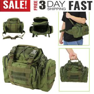 Tactical Utility Molle Waist Pack Mens Army Military Assault Bum Hip Belt Bags