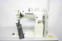 Seiko PW-27B Twin Needle Post Wheel Feed Heavy Duty Industrial Sewing Machine